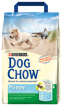 Dog Chow Hondenvoer Puppy Junior C/R 3 kg