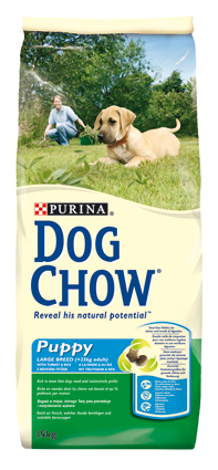 Dog Chow Hondenvoer Puppy Junior Large Breed 15 kg