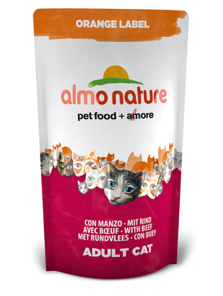 Almo Kattenvoer Orange Label Dry Rund - 750 gram