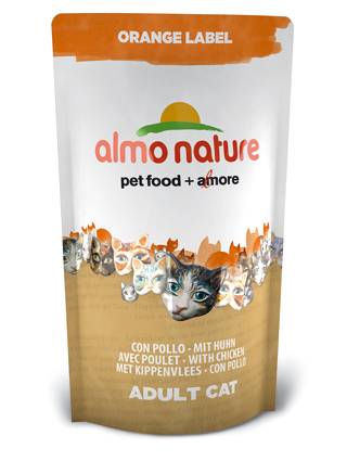 Almo Kattenvoer Orange Label Dry Kip - 750 gram
