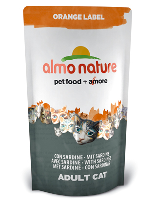 Almo Kattenvoer Orange Label Dry Sardines - 750 gram