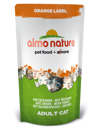 Almo Kattenvoer Orange Label Dry Kalkoen - 750 gram