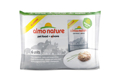 Almo Nature Kip/Sardines Valuepack 55gr.