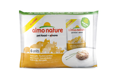 Almo Nature Tonijn/Kip Valuepack 55gr.