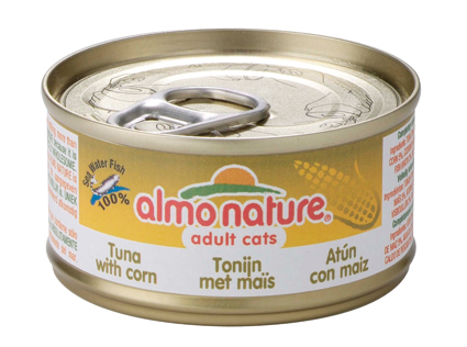 Almo Nature Tonijn met Mais 70gr.