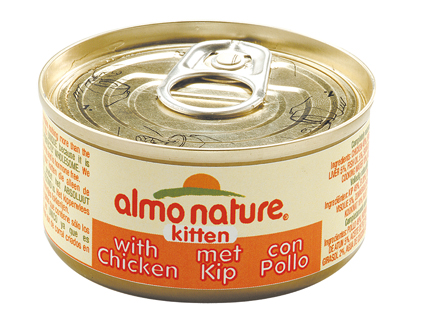 Almo Nature Kitten Kip 70gr.