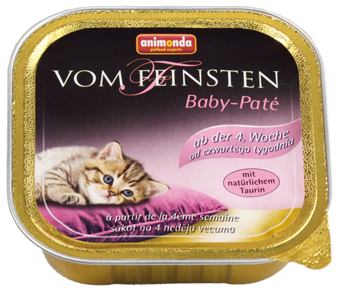 Feinsten Cat Baby Pate 100gr.