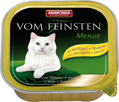 Feinsten Cat Menu Gev.+Pasta 100gr.
