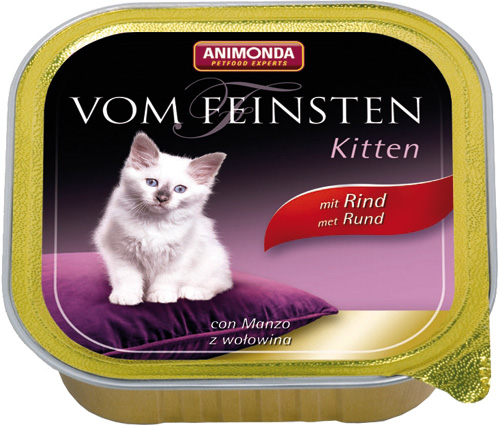 Feinsten Cat Kitten Vlees 100gr.