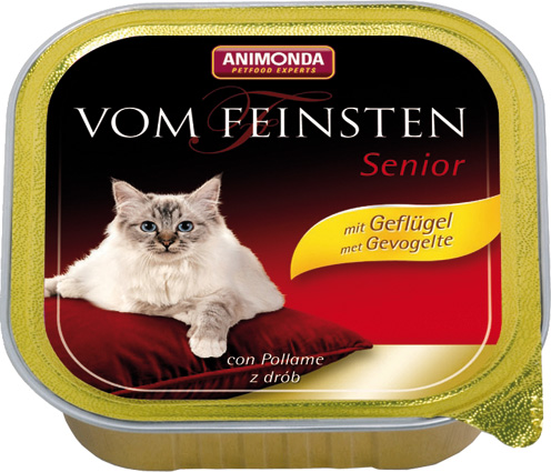 Feinsten Cat Senior Gevogel. 100gr.
