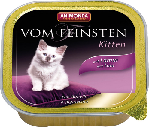 Feinsten Cat Kitten Lam 100gr.
