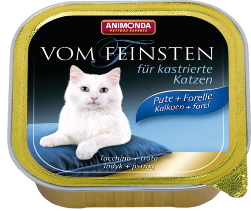 Feinsten Cat Castr. Kalk+For 100gr.