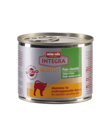 Integra Cat Kalkoen+Aard. 200gr.