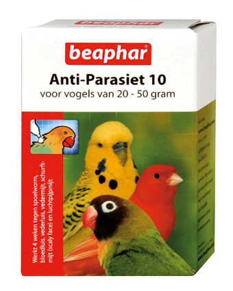 Beaphar Anti Parasiet Vogels 10 - 2 Pipets