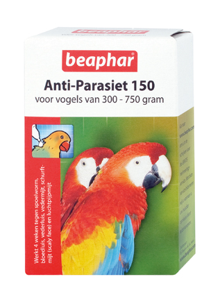 Beaphar Anti Parasiet Vogels 150  - 2 Pipets
