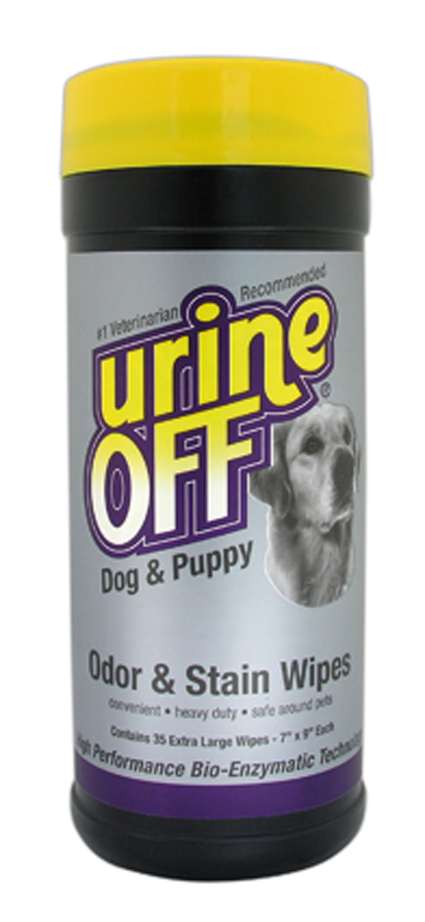 Honden Urine Off Dog & Puppy Wipes 35 stuks