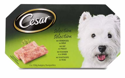 Cesar Hondenvoer Nat MP Selection 150 gram