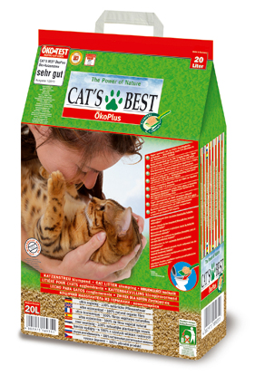 Cats Best Kattenbakvulling Oko Plus - 20 liter
