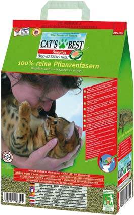 Cats Best Kattenbakvulling Oko Plus - 10 liter