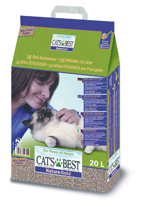 Cats Best Kattenbakvulling Nature Gold - 20 liter