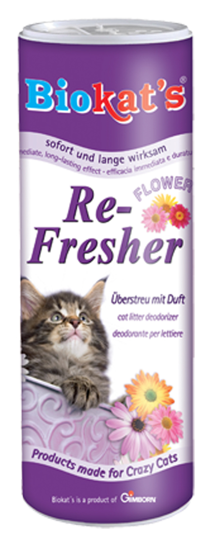 Biokat Kattenbakvulling Re-Fresher Flower Power - 700 gram