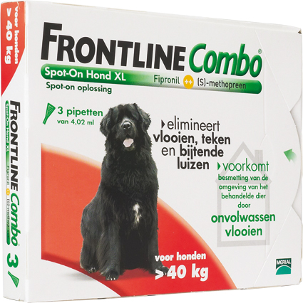 Frontline COMBO Dog XL 3 Pipetten 40-60 kg