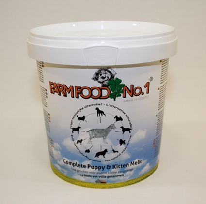 Farm Food Hondenvoer Puppy & Kitten Melk 500 gram