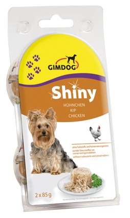 Shiny Dog Hondenvoer Nat Kip 2 x 85 gram