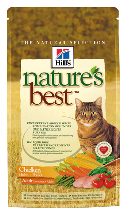 Hill's Nature's Best Feline Kattenvoer Adult Kip - 2 kilo