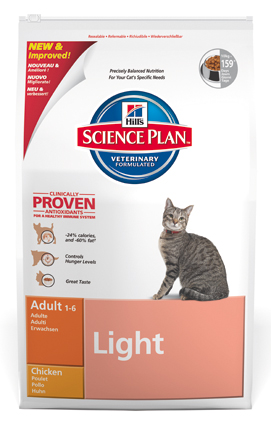 Hill's Feline Kattenvoer Light Kip - 10 kilo