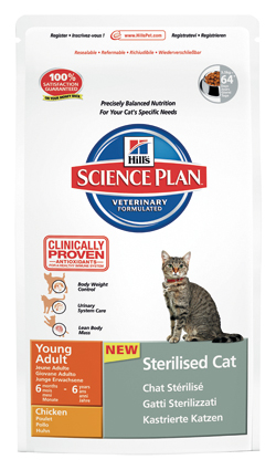 Hill's Feline Kattenvoer Adult Sterilised - 3500 gram