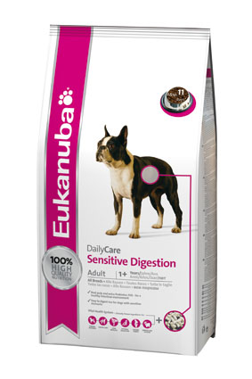 Eukanuba Hondenvoer Sensitive Digestion 2,5 kg