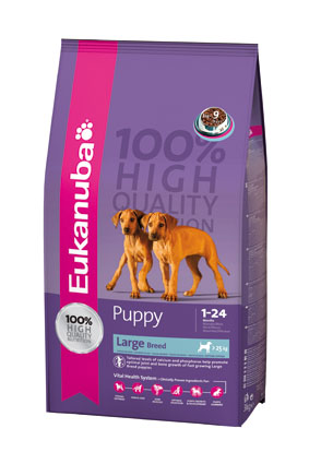 Eukanuba Hondenvoer Puppy Large Breed 15 kg