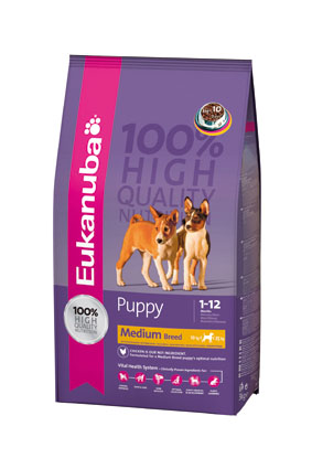 Eukanuba Hondenvoer Puppy Medium Breed 3 kg