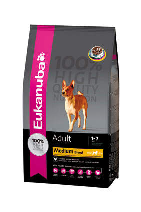 Eukanuba Hondenvoer Adult Maint Medium 3 kg