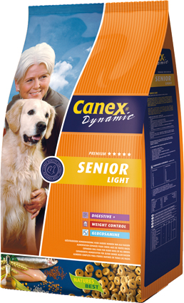 Canex Dynamic Hondenvoer Senior Light 12,5 kg