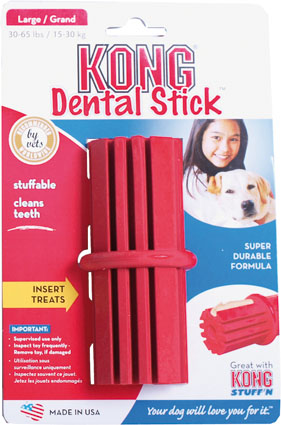 Hondenspeeltje Kong Dental Stick Large