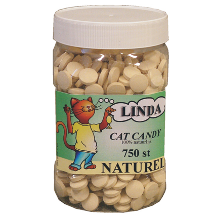 Linda Cat Candy Naturel 750 stuks