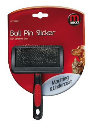 Mikki Honden Slicker Brush Pin+Bal Small