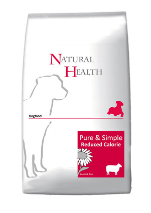 Natural Health Hondenvoer Lam Rijst Reduced 12,5 kg