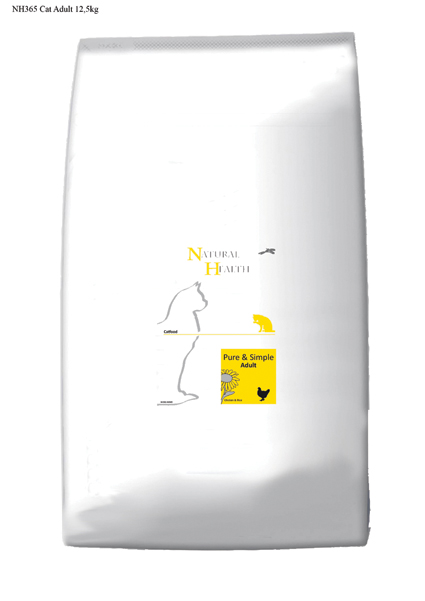 Natural Health Kattenvoer Adult - 12,5 kilo