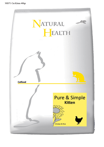Natural Health Kattenvoer Kitten - 400 gram