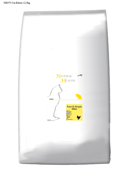 Natural Health Kattenvoer Kitten - 12,5 kilo