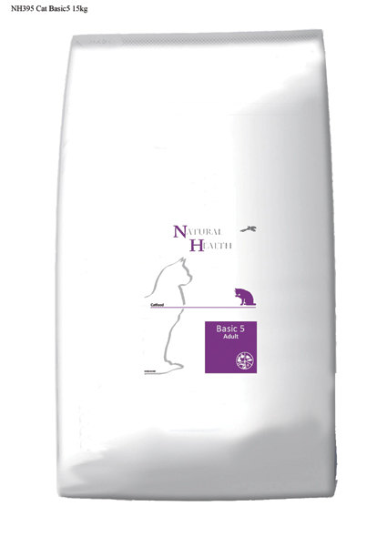 Natural Health Kattenvoer Basic 5 - 15 kilo