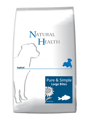 Natural Health Hondenvoer F & R Large Bite 12,5 kg