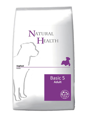 Natural Health Hondenvoer Basic Five 12,5 kg