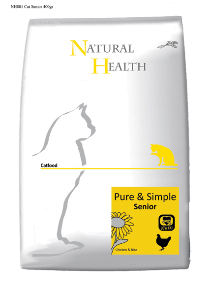 Natural Health Kattenvoer Senior - 400 gram