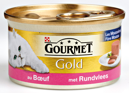 Gourmet Gold Rundvlees Mouse 85 gram