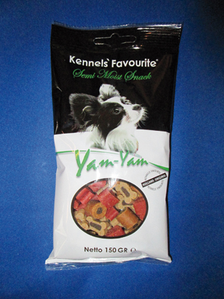 Kennels Favorite Hondensnack Yam-Yam Party Mix 150 gram