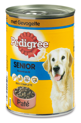 Pedigree Hondenvoer Nat Blik Senior 400 gram